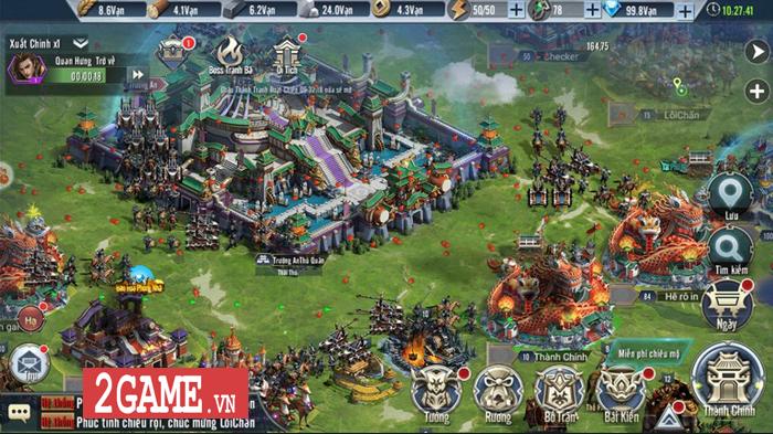 Thỏa sức phô diễn tài dụng binh trong game Tam Quốc Vương Giả Mobile 5