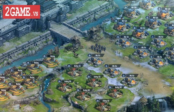 Bày binh bố trận luôn là món ăn chính trong Tam Quốc Vương Giả Mobile 1