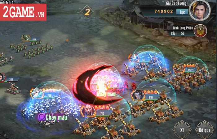 Bày binh bố trận luôn là món ăn chính trong Tam Quốc Vương Giả Mobile 3