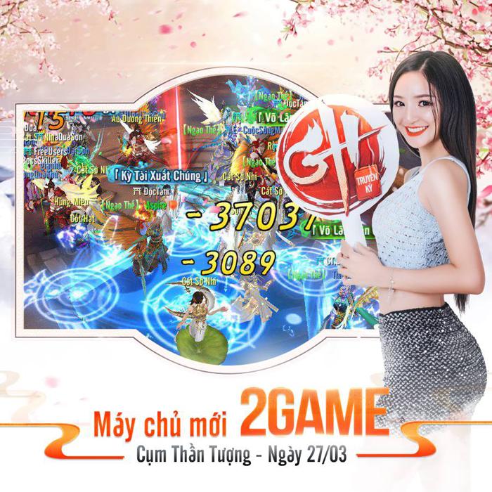 2Game trở thành máy chủ trong game GH Truyền Kỳ với rất nhiều ưu đãi cho người chơi 2