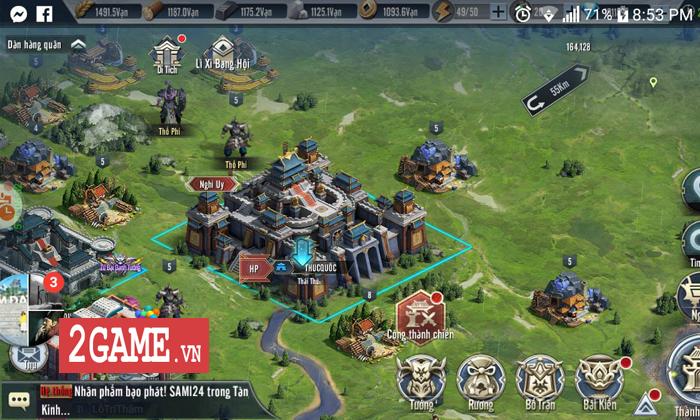 Game thủ Tam Quốc Vương Giả đắm chìm trong chuỗi nhiệm vụ xây thành, điều binh 8