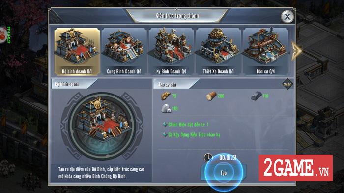 Game thủ Tam Quốc Vương Giả đắm chìm trong chuỗi nhiệm vụ xây thành, điều binh 3