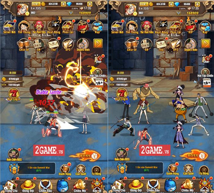 Vua Hải Tặc H5 - Game đa nền tảng về One Piece cập bến Việt Nam 1
