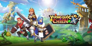 Game lai giữa chiến thuật và xếp kim cương Vương Quốc Chiến ra mắt bản tiếng Việt