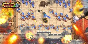 Vương Quốc Chiến Mobile sở hữu lối chơi chiến thuật thiên về giải trí đầy thú vị