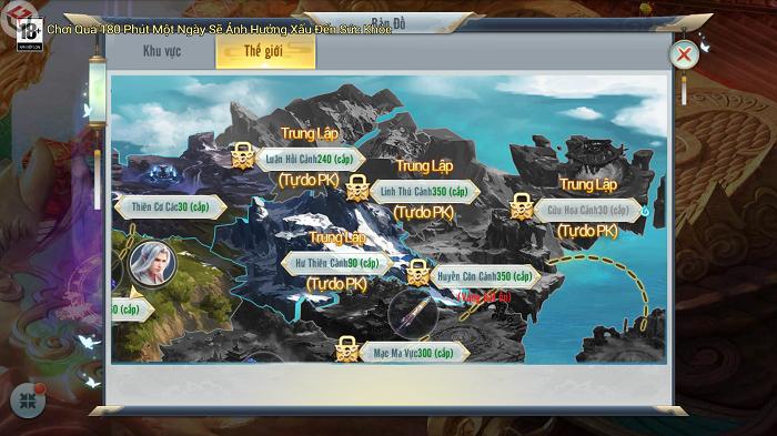 Đếm ngược ngày ra mắt game tiên hiệp Ngự Linh Mobile 3