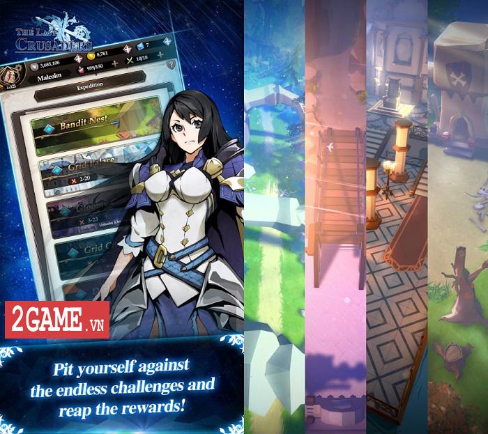 The Last Crusaders: Game nhập vai màn hình dọc mang màu sắc huyền ảo 2