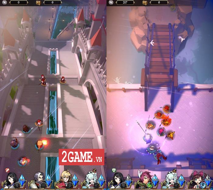 The Last Crusaders: Game nhập vai màn hình dọc mang màu sắc huyền ảo 3