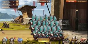 Người chơi Đông Chu Liệt Quốc Mobile được va chạm từ Quân Đoàn chiến cho đến Quốc chiến