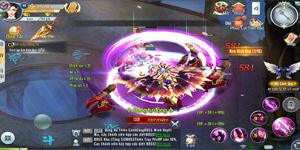 Choáng ngợp trước tiết tấu game nhanh chóng mặt của Ngự Linh Mobile
