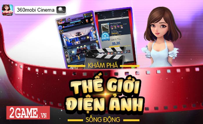 360mobi Cinema VNG - Game mô phỏng cho phép người chơi trở thành nhà đạo diễn phim 1