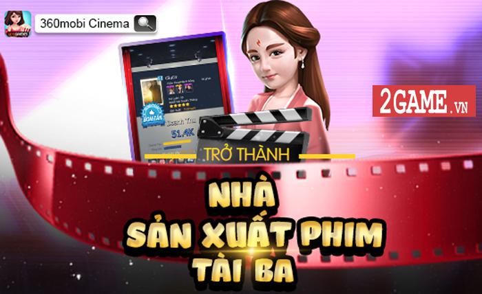 360mobi Cinema VNG - Game mô phỏng cho phép người chơi trở thành nhà đạo diễn phim 2
