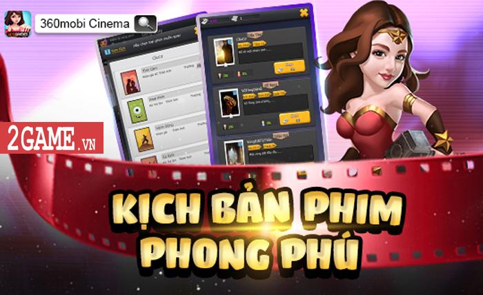 360mobi Cinema VNG - Game mô phỏng cho phép người chơi trở thành nhà đạo diễn phim 4
