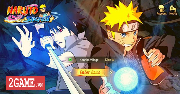 Naruto SlugFest - Game nhập vai hành động tái hiện 100% thế giới Naruto 0
