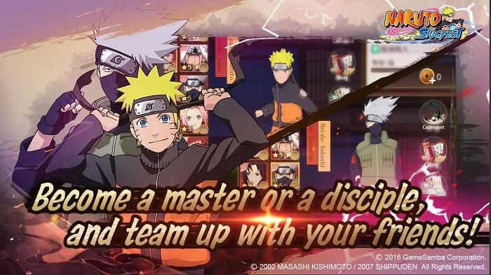 Naruto SlugFest - Game nhập vai hành động tái hiện 100% thế giới Naruto 2