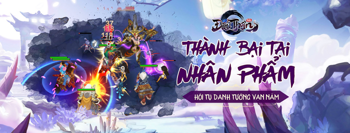 Game đấu thẻ tướng cho né skill Đấu Thần Mobile về Việt Nam 0