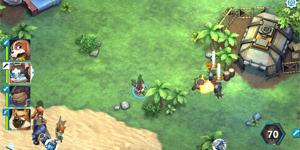 Mission of Crisis Restart sở hữu lối chơi chiến thuật quản lý tổ đội thú vị