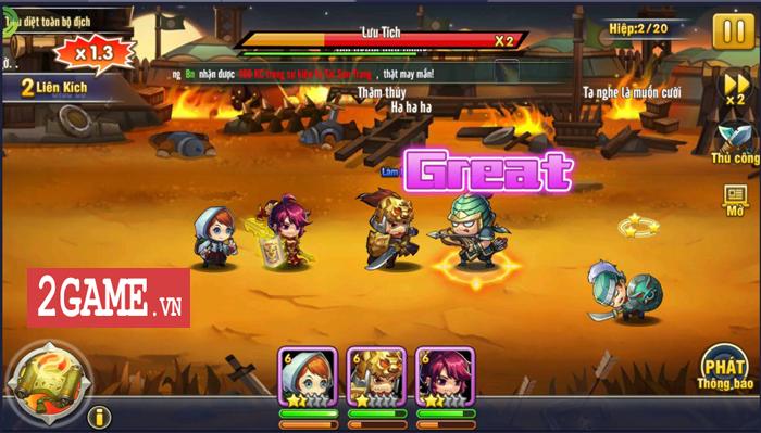 Đánh giá 3Q Ai là Vua Mobile: Lối chơi thẻ tướng đơn giản nhưng lại rất chuyên sâu 1