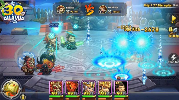 Tặng 777 giftcode game 3Q Ai Là Vua Mobile 1