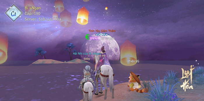 Cộng đồng người chơi Liệt Hỏa VNG thi nhau khoe con cái ảo trong game 0