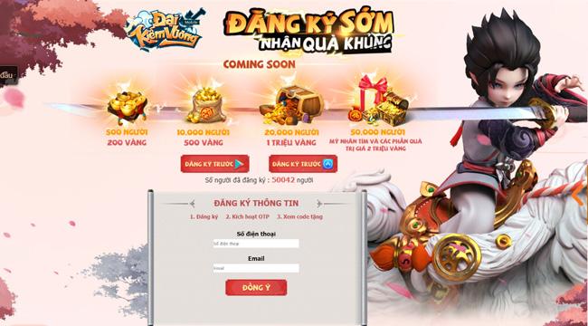 Game nhập vai kute Đại Kiếm Vương Mobile chính thức ra mắt game thủ Việt