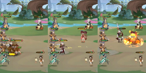Ode To Heroes – Game đấu tướng màn hình dọc với thiết kế 2D độc đáo