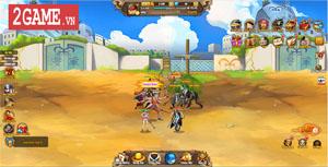Chơi thử Vua Hải Tặc H5 – Thế giới One Piece sinh động thu gọn trong lòng bàn tay!
