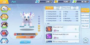 Khám phá hệ thống Pet với khả năng tiến hóa chẳng khác gì Pokémon của GunPow 3D