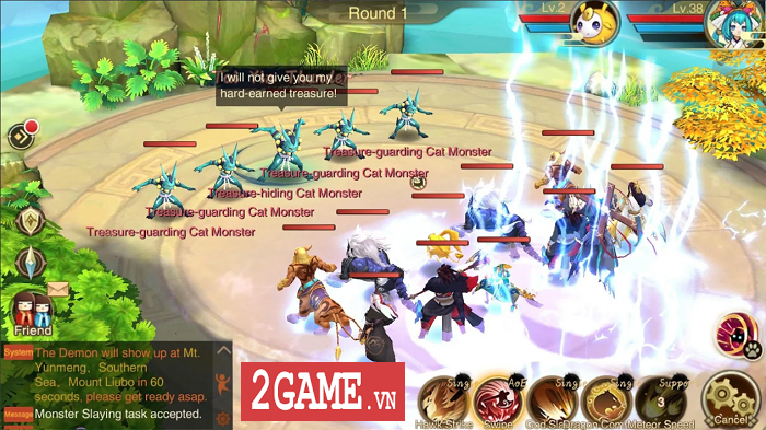 Top 11 game mobile lấy cảm hứng Âm Dương Sư Nhật Bản 7