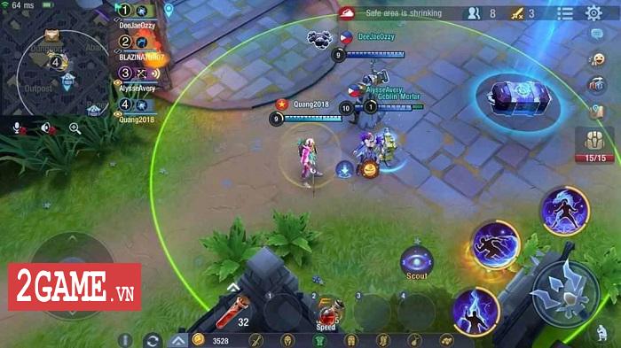 Cách giành TOP 1 cho những game thủ Survival Heroes Việt Nam yêu thích lối chơi du kích 0