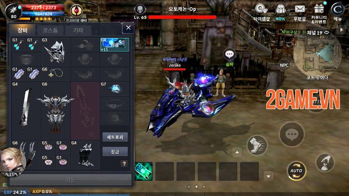 Game nhập vai kinh điển Cabal Mobile bước vào phiên bản chính thức 1