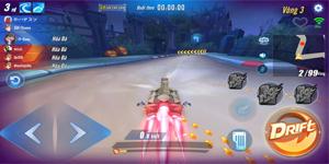 Game thủ ZingSpeed Mobile VNG thích thú với chế độ đua mới mang tên Tẩu Thoát