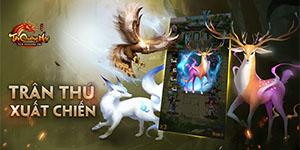 Tân Chưởng Môn VNG cũng cho người chơi tự do đi bắt Trân Thú như kiểu game nhập vai