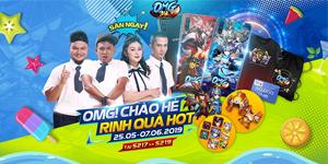 OMG 3Q VNG tung sự kiện chào hè cực hot với tổng giá trị giải thưởng lên tới 300 triệu