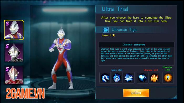 Ultraman Legend Hero - Game hành động lấy đề tài Siêu nhân điện quang vô cùng mới mẻ 0