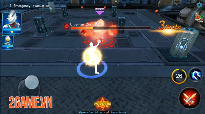 Ultraman Legend Hero - Game hành động lấy đề tài Siêu nhân điện quang vô cùng mới mẻ 1
