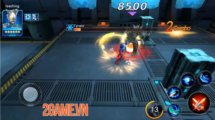 Ultraman Legend Hero - Game hành động lấy đề tài Siêu nhân điện quang vô cùng mới mẻ 2