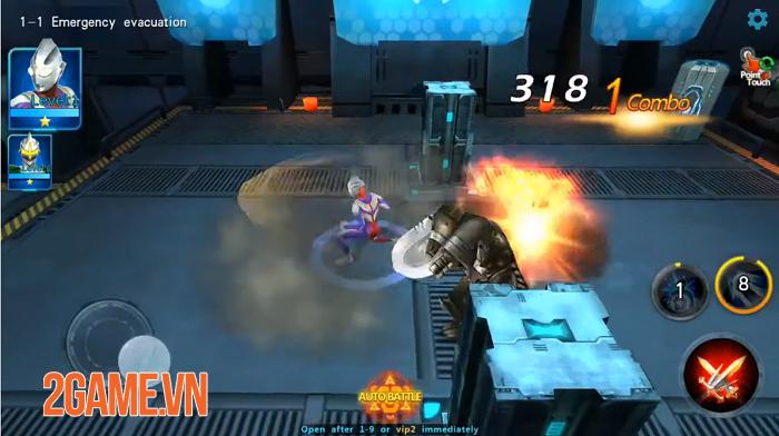 Ultraman Legend Hero - Game hành động lấy đề tài Siêu nhân điện quang vô cùng mới mẻ 3