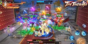 Game nhập vai Tân Thiên Hạ Mobile đưa quyền làm Vua làm Tướng vào tay người chơi