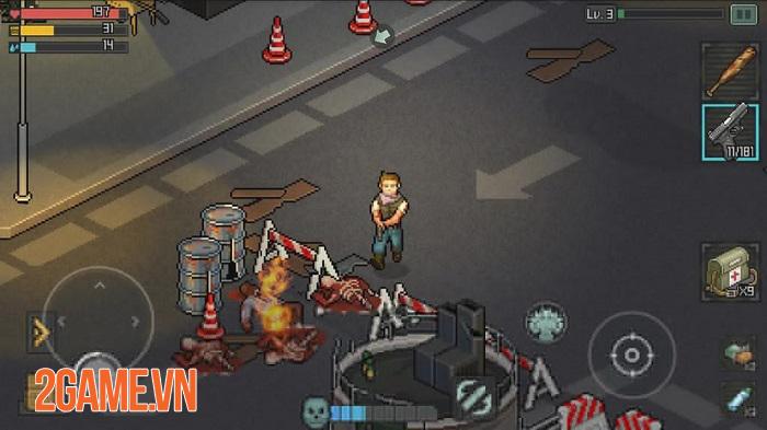 Fury Survivor: Pixel Z - Game bắn súng đề tài zombie với phong cách đồ họa pixel retro cổ điển 1
