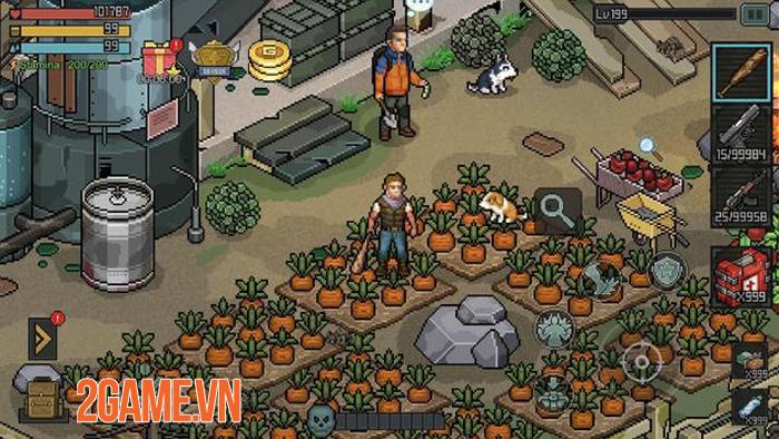 Fury Survivor: Pixel Z - Game bắn súng đề tài zombie với phong cách đồ họa pixel retro cổ điển 2