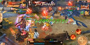 Đặt chân vào Tân Thiên Hạ Mobile người chơi chỉ việc PK cũng lên cấp!