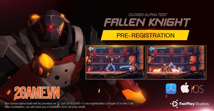 Fallen Knight - Game nhập vai đi cảnh với cơ chế phản đòn hấp dẫn 1