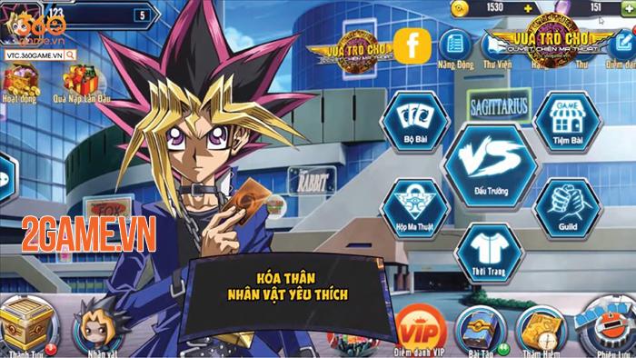 Không như mong đợi, Vua Trò Chơi Online chính là game cũ Yugi H5 1