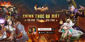 Game nhập vai Ma Đạo Tây Du Mobile công bố ngày ra mắt