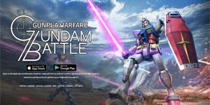 Gundam Battle: Gunpla Warface – Game mobile hành động hay nhất về Gundam