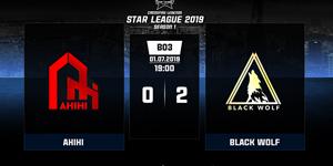 Crossfire Legends: Black Wolf đánh bại đương kim vô địch AHIHI giành suất đầu tiên vào Chung kết Star League 2019