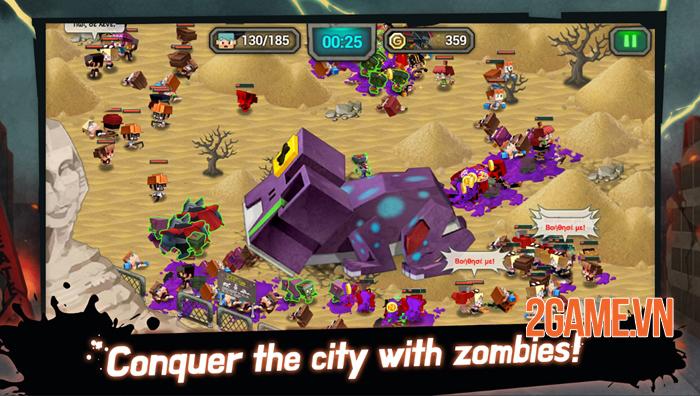 Drop The Zombie cho phép bạn sản sinh Zombie trong phòng thí nghiệm 1