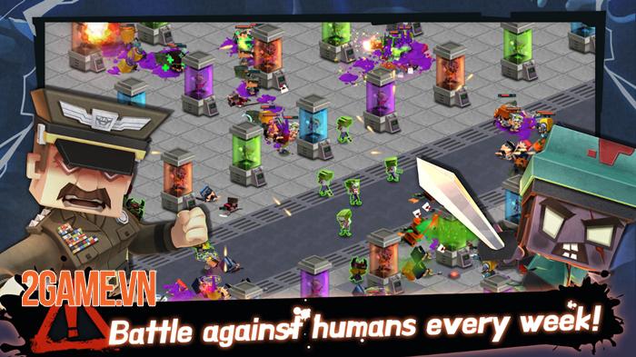 Drop The Zombie cho phép bạn sản sinh Zombie trong phòng thí nghiệm 2