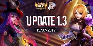 AOG Đấu trường Vinh Quang chính thức cập nhật phiên bản 1.3 với nhiều thay đổi hấp dẫn